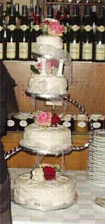 Bryllupskage, opskrift